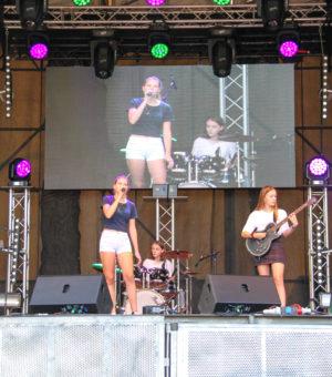Stadtfest Eisenhüttenstadt Hauptbühne 24.08.2019